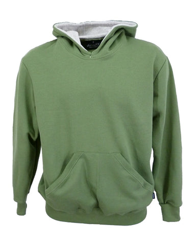 men's olive green hoodie, made in England,
