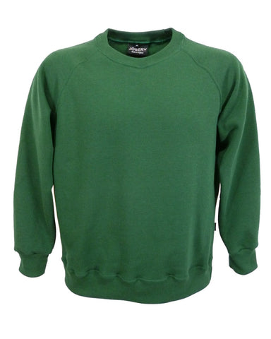 Men's bottle green sweatshirt, British Made