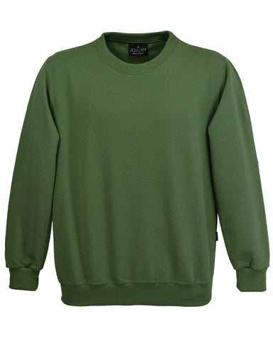 Olive Green Sweatshirt, made in UK