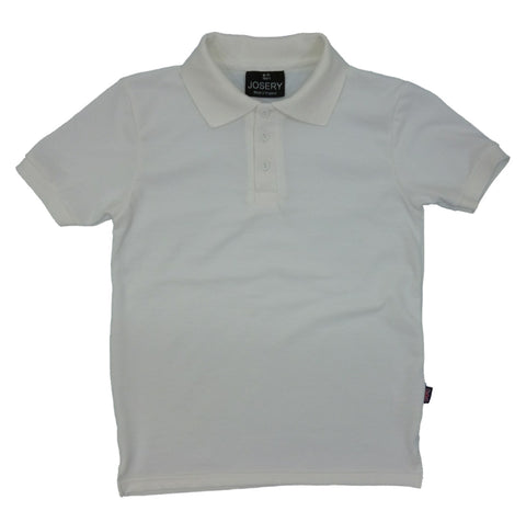 J920 Childs Polo Shirt White