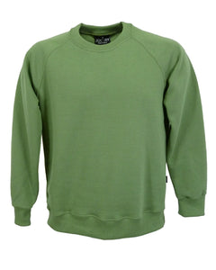 Men's Olive Green sweatshirt, British Made