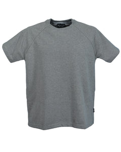 Sale Item:  J719 Men's Grey Marl raglan sleeve T-Shirt
