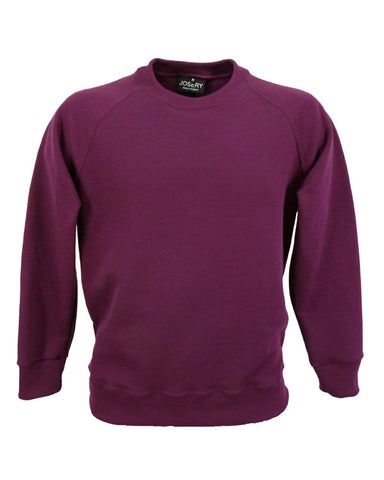 maroon sweatshirt made in UK