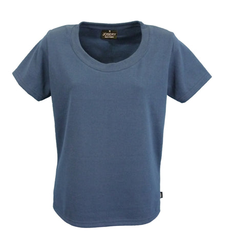 Navy scoop neck T-Shirt