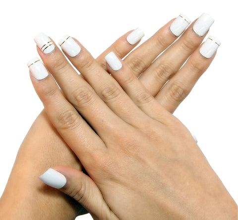 """Cosmopolitan Chic"" Square Nails"
