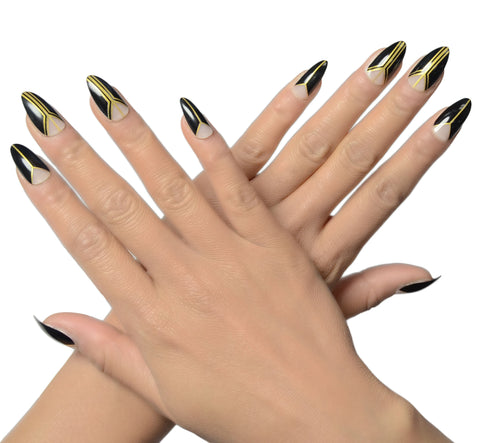 """BAE"" Stiletto Nails"