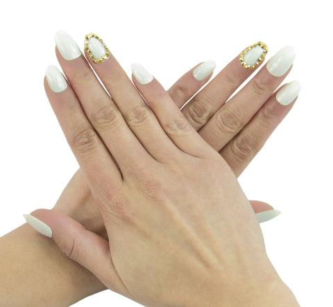 """Bling Bling"" Oval Nails"