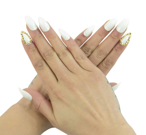 """Bling Bling"" Stiletto Nails"