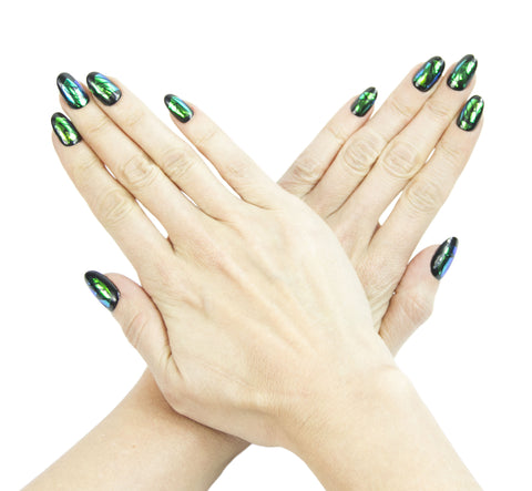 """Envy"" Oval Nails"