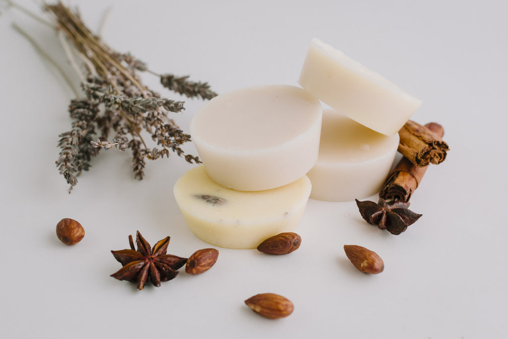 Almond Moisturising Lotion Bar with Lemon Myrtle
