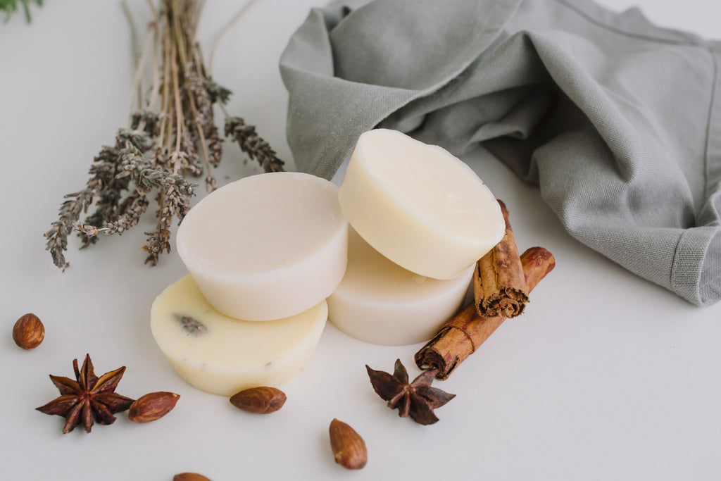 Almond Moisturising Lotion Bar with Lemongrass Essential Oil