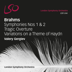 Brahms 1 & 2 cover