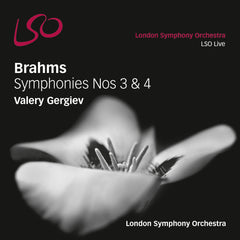 Brahms 3 & 4 cover
