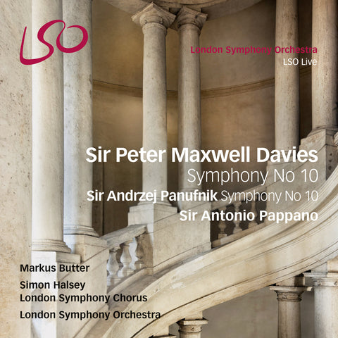 Maxwell Davies & Panufnik: Tenth Symphonies [digital download]