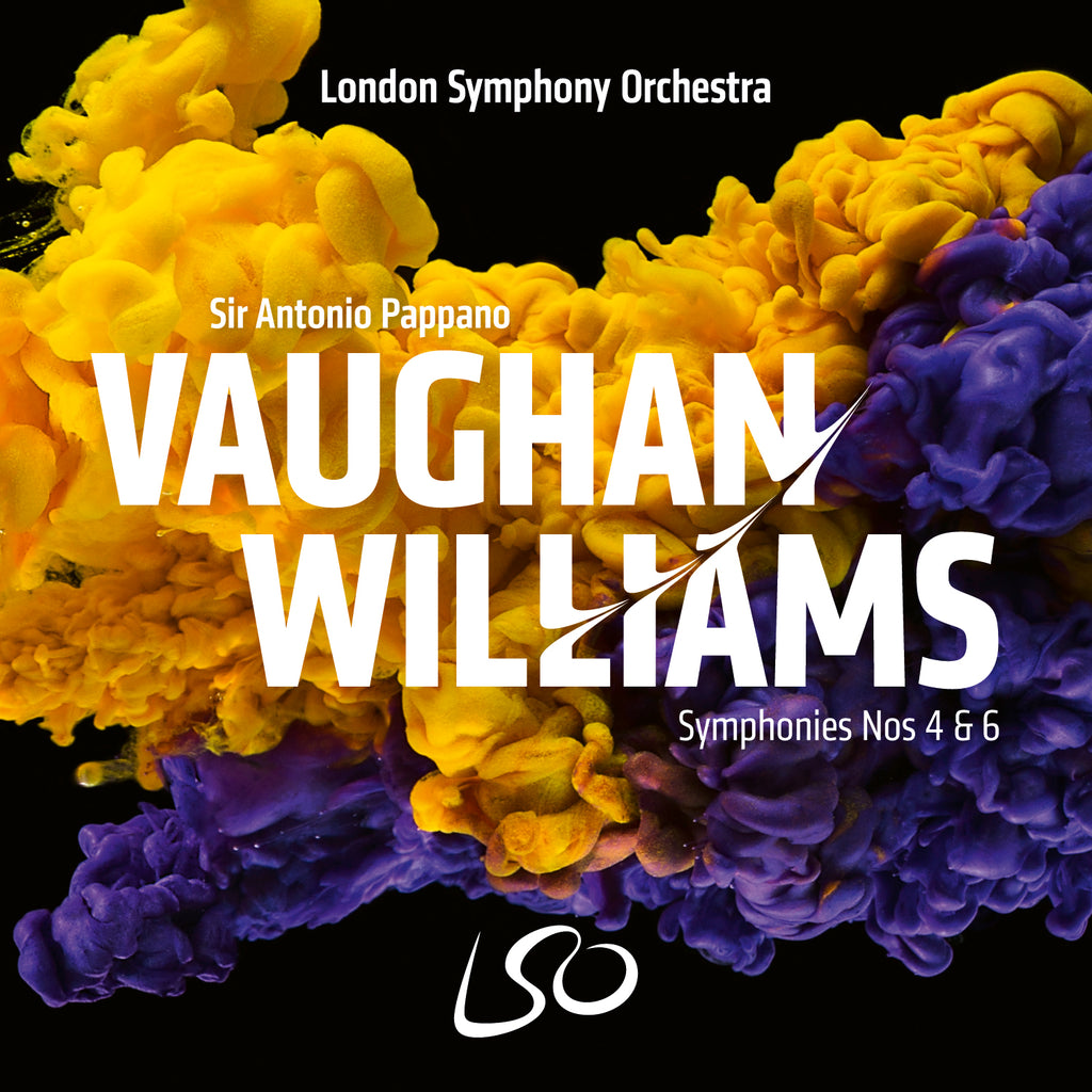 Vaughan Williams: Symphonies Nos 4 & 6. CD on LSO Live. Released 16 April, 2021