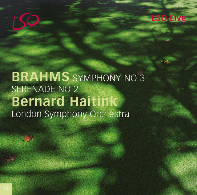 Brahms: Symphony No. 3; Serenade No. 2 album cover