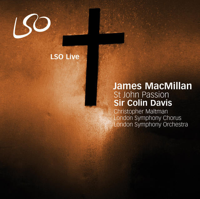 MacMillan: St John Passion album cover