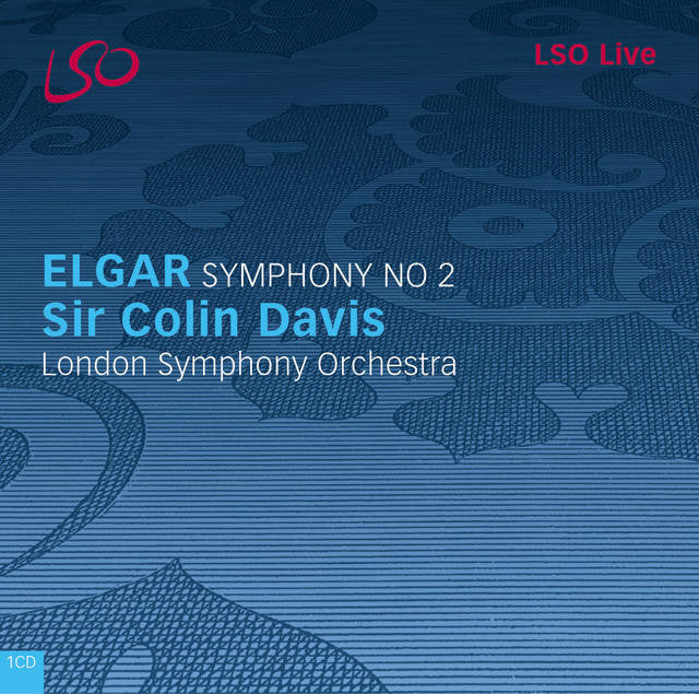 Elgar: Symphony No. 2 album cover