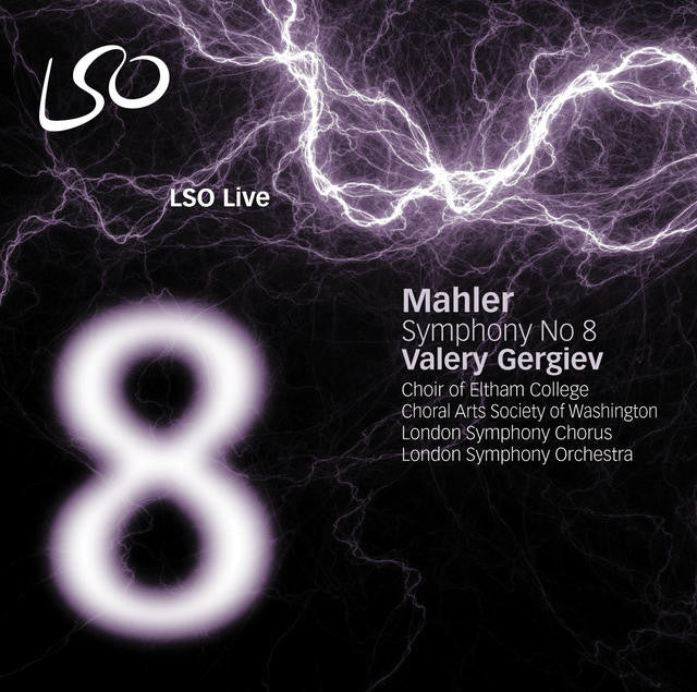 Mahler: Symphony No. 8 album cover