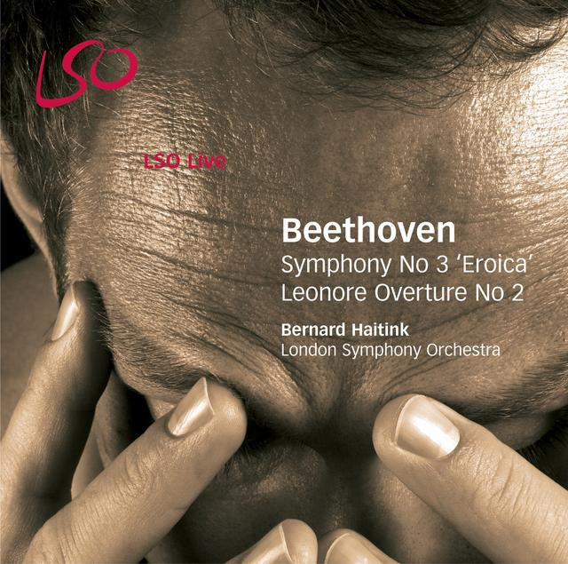 "Beethoven: Symphony No. 3 ""Eroica"", Leonore Overture album cover"