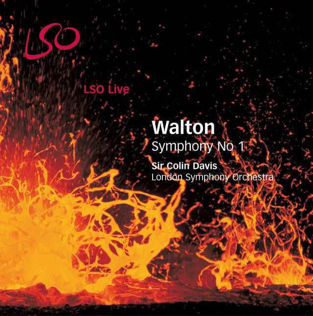 Walton: Symphony No. 1 album cover