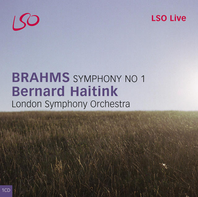 Brahms: Symphony No. 1 & Tragic Overture album cover