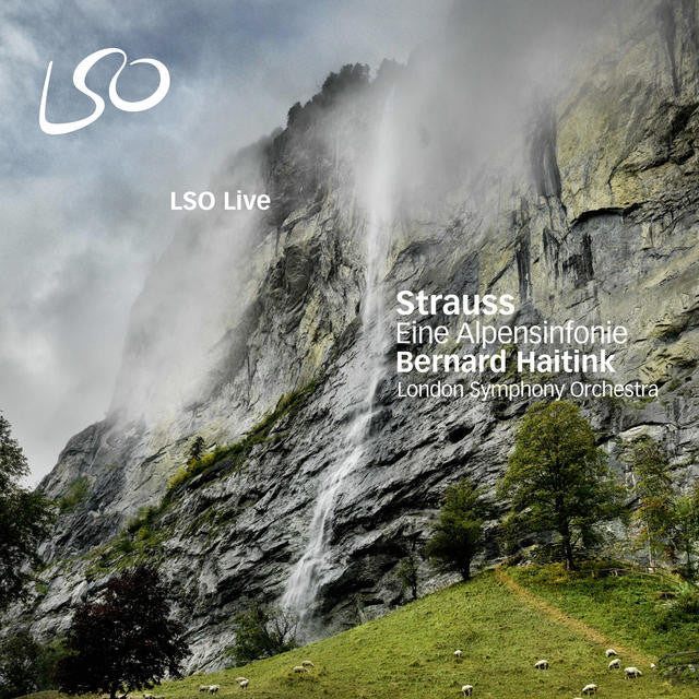 Strauss: Eine Alpensinfonie (An Alpine Symphony) album cover