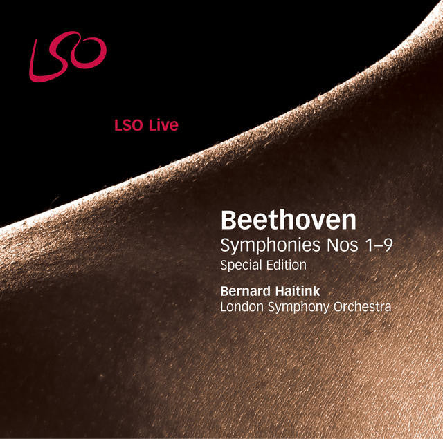 Beethoven: Symphonies Nos. 1-9 album cover
