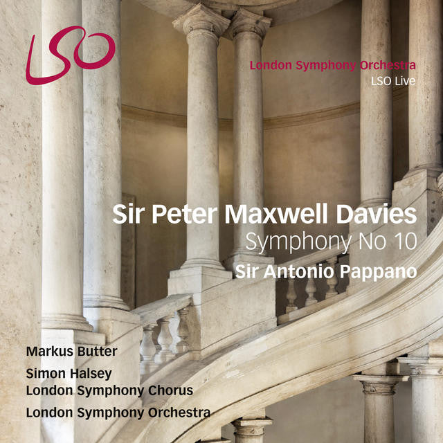 Sir Peter Maxwell Davies: Symphony No. 10 album cover