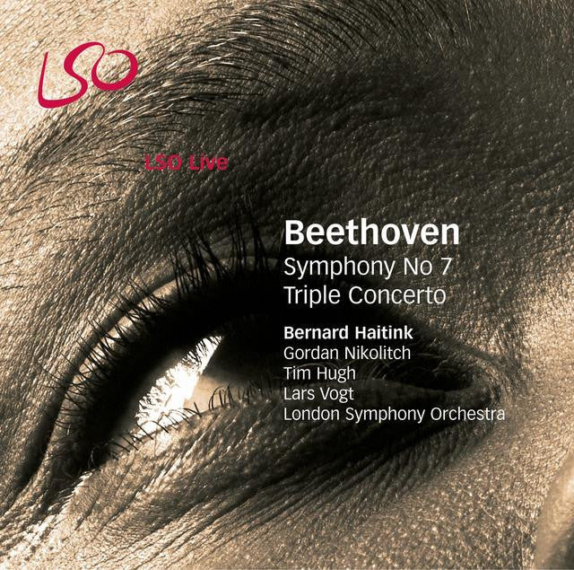 Beethoven: Symphony No. 7 & Triple Concerto album cover