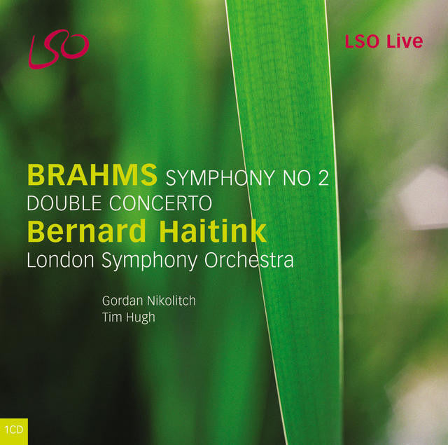 Brahms: Symphony No. 2 & Double Concerto album cover