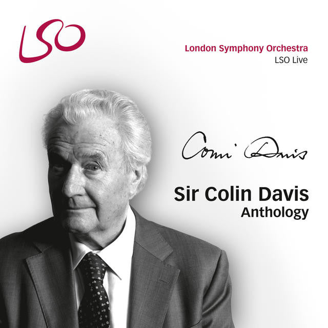 Sir Colin Davis Anthology album cover