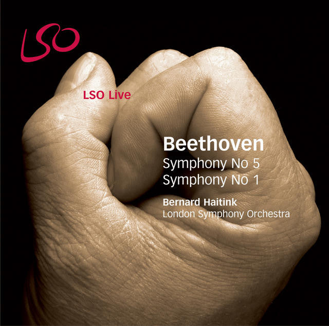 Beethoven: Symphonies Nos. 5 & 1 album cover