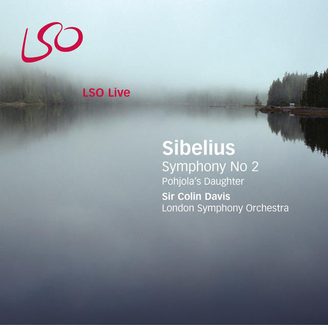 Sibelius: Pohjola's Daughter, Symphony No. 2 album cover