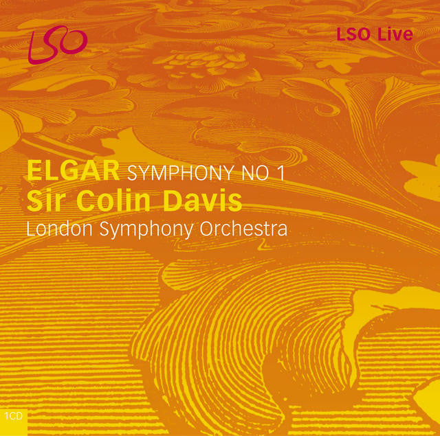 Elgar: Symphony No. 1 album cover
