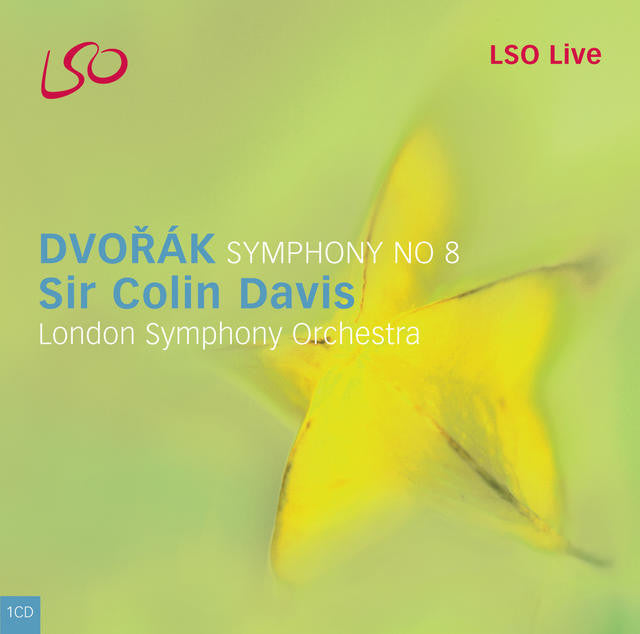 Dvorák: Symphony No. 8 album cover