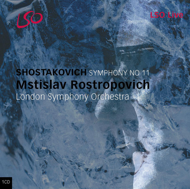 "Shostakovich: Symphony No. 11 - ""The Year 1905"" album cover"