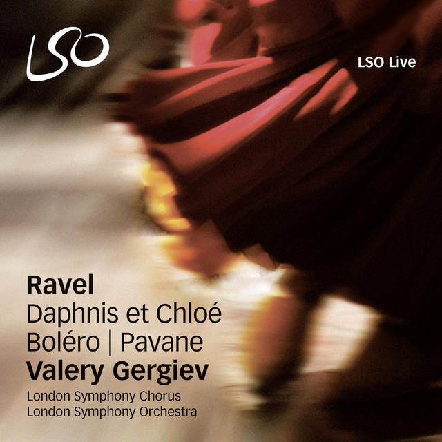 Ravel: Daphnis et Chloé album cover