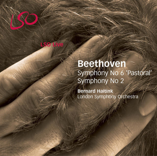 Beethoven: Symphonies Nos. 6 & 2 album cover