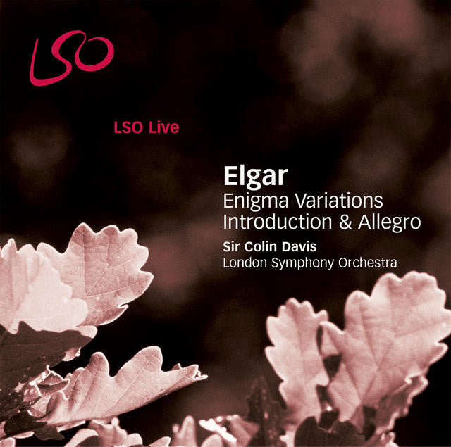 Elgar: Enigma Variations, Introduction & Allegro album cover