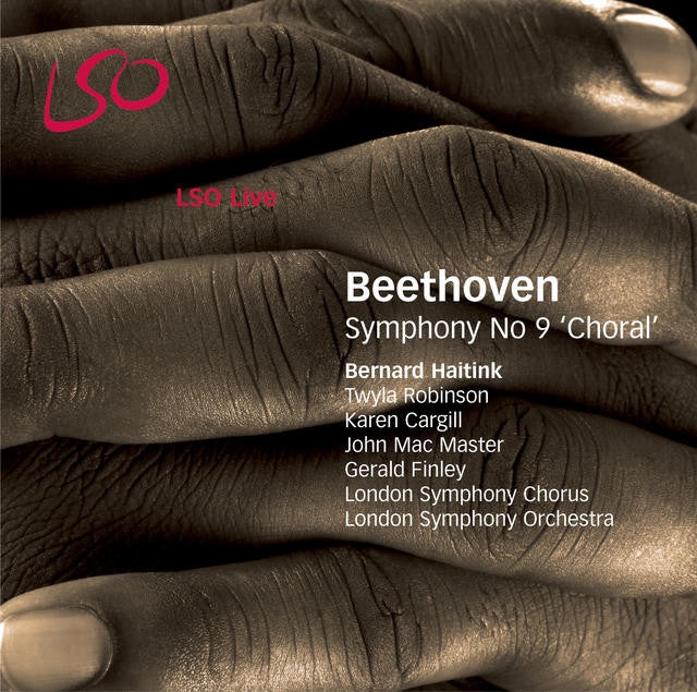 "Beethoven: Symphony No. 9, ""Choral"" album cover"