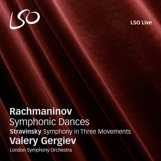 Rachmaninov: Symphonic Dances album cover