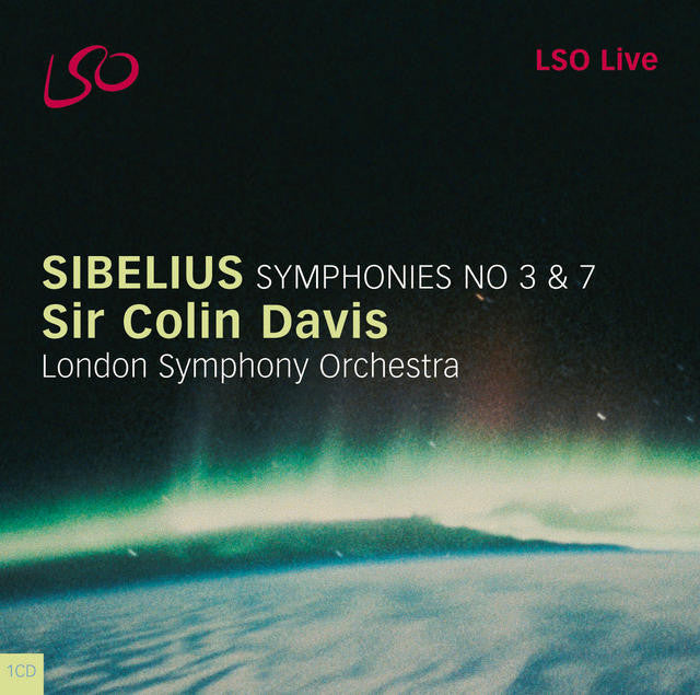 Sibelius: Symphonies No. 3 & 7 album cover