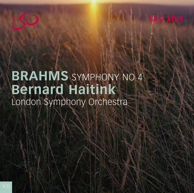 Brahms: Symphony No. 4 album cover