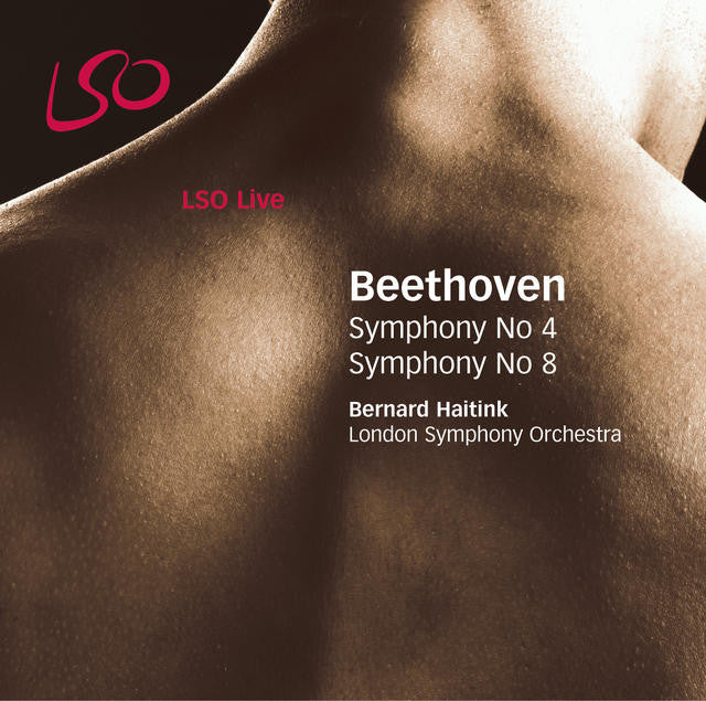 Beethoven: Symphonies Nos. 4 & 8 album cover