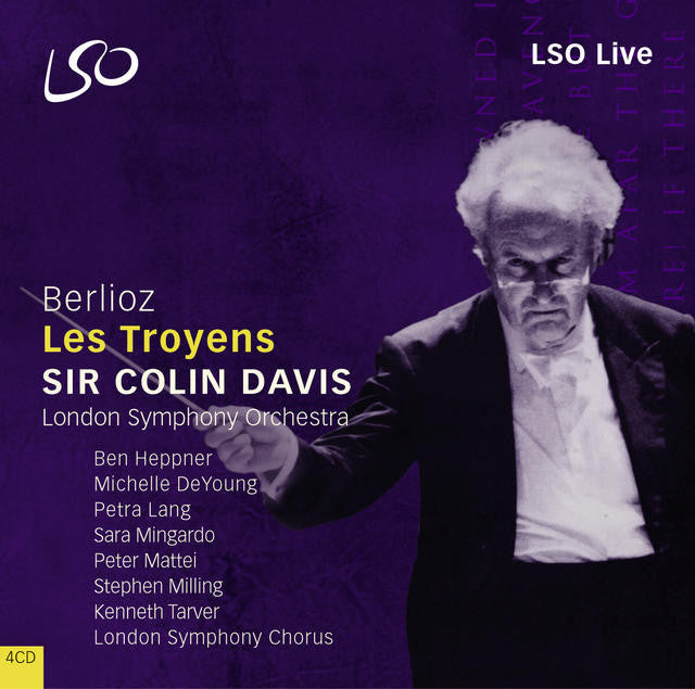 Berlioz: Les Troyens (The Trojans) album cover
