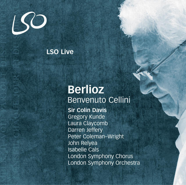 Berlioz: Benvenuto Cellini album cover