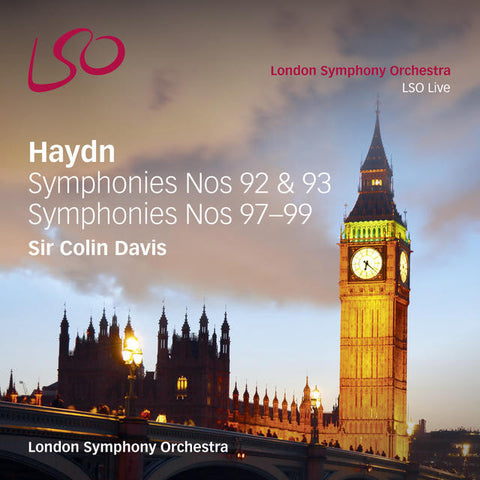 Haydn: Symphonies Nos 92, 93, & 97-99 [digital download]