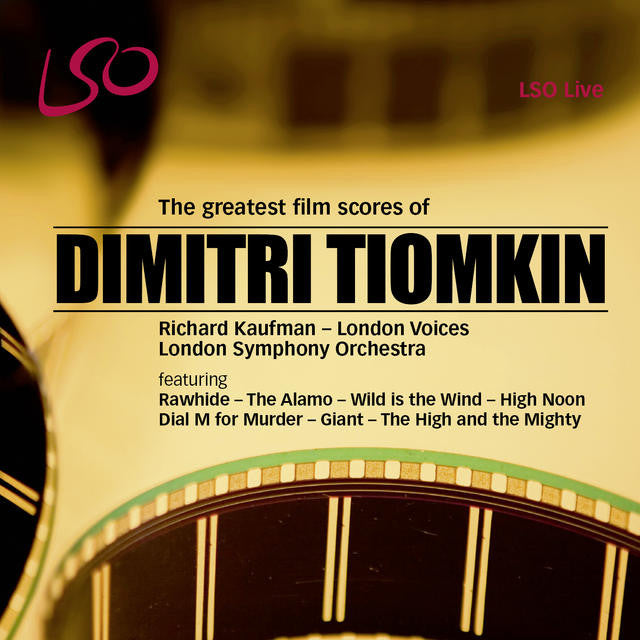 Dimitri Tiomkin: The Greatest Film Scores album cover