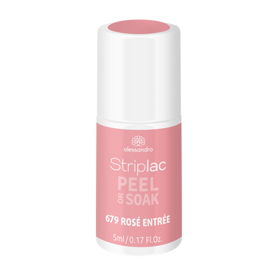 Striplac Peel or Soak -Rosé Entrée 679 - limited edition 5ml